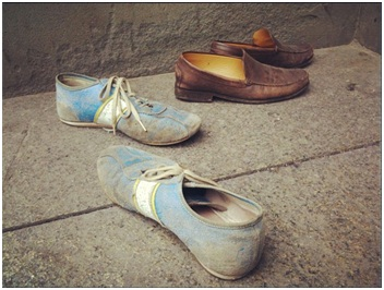 Photo of four shoes