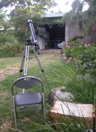 Photo of telescope