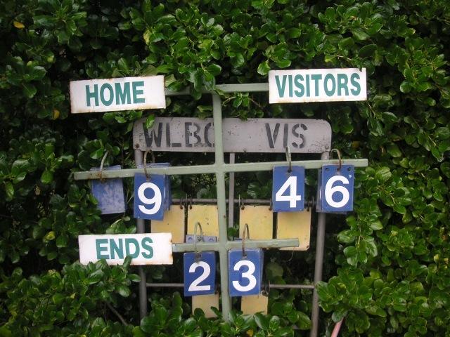 Bols scoreboard