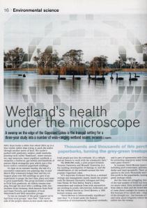Victoria University article