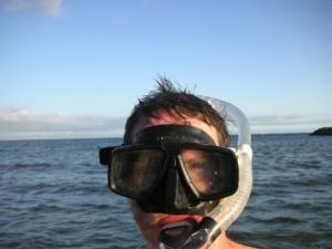 Selfie with snorkel