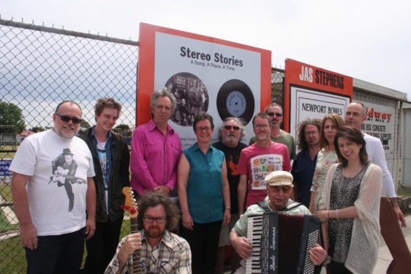 The Stereo Stories Band. Newport Bowls Club, Sunday 19 October 2014.