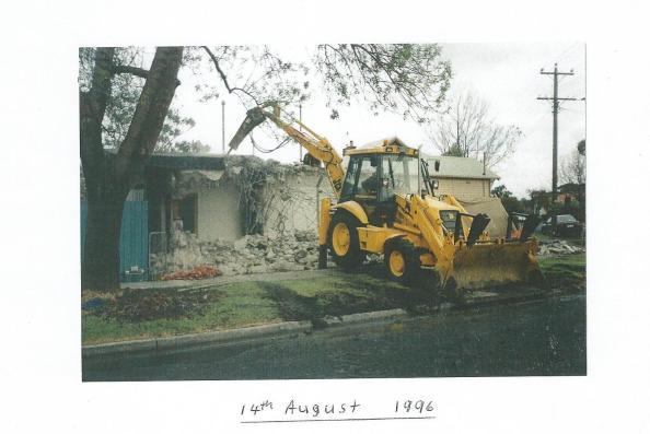 Local pigeon racing club. 14 August 1996