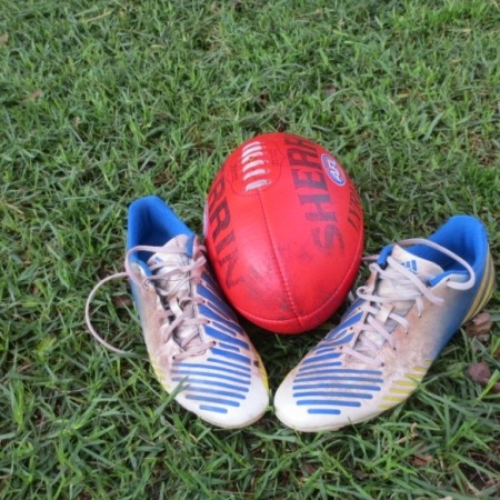 Football and football boots
